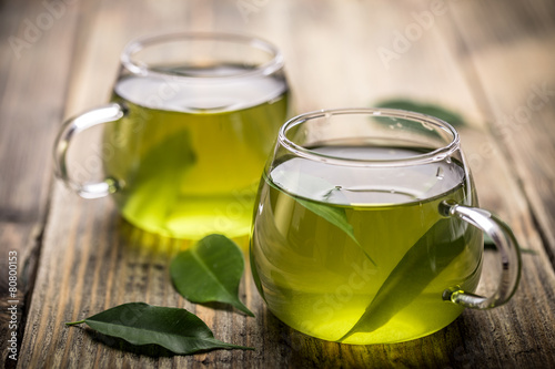 Wall Murals Tea Green tea