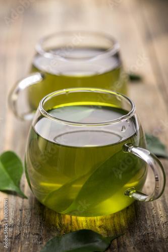 Canvas Prints Tea Green tea