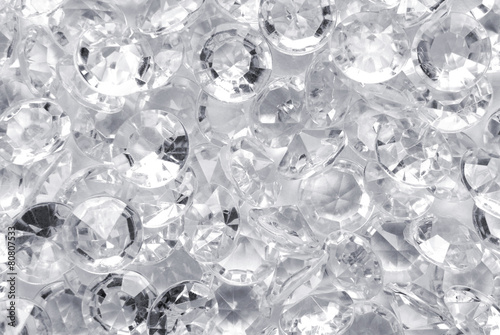 Photo close up of the diamond background