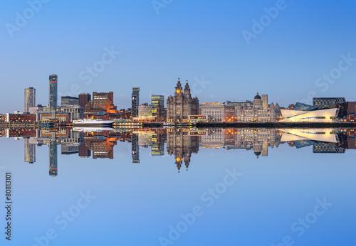 Stampe  Liverpool skyline
