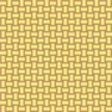Vector Seamless Pattern Wiht Gold Weaving.