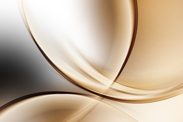 Fototapeta Light Gold Abstract