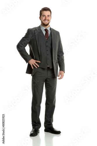 Fotografie, Obraz  Portrait of Businessman