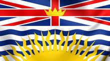 Flag Of British Columbia, Cana...