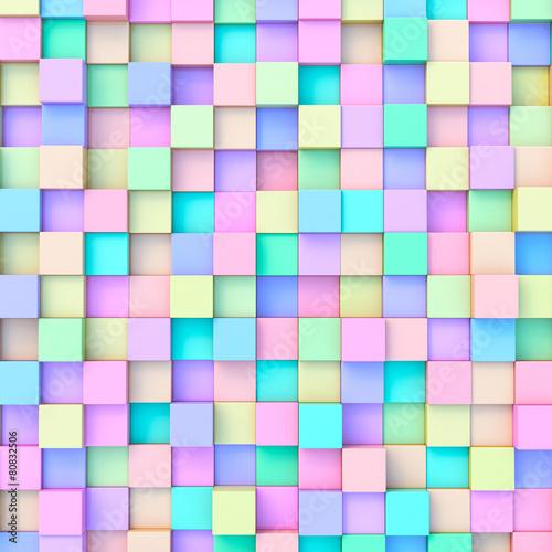 Pixelpastillen in der Pastellnote