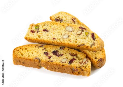 Slika na platnu biscotti isolated on white background