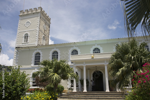 Foto op Plexiglas Caraïben Church Georgetown St Vincent & The Grenadines Caribbean 06