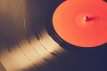 Old Vinyl Record, Instagram Retro Style