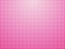 Beautiful Pink Background Of Small White Polka Dots