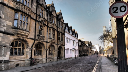 Photo  A street in Oxford