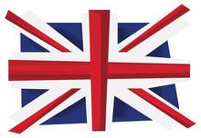 UK Flag Of United Kingdom. Union Jack . Vector. Illustration.