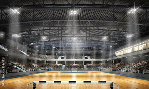 obraz PCV Multifunktionshalle Piłka ręczna 2