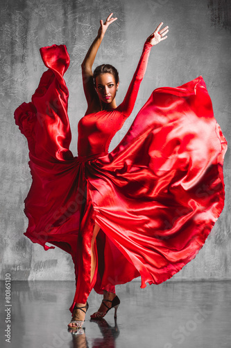 Foto flamenco dancer