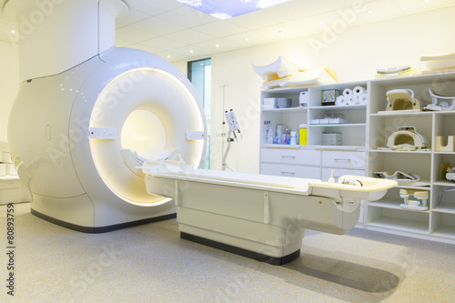 Fotografía  Kernspintomographie im Krankenhaus / Klinik / Praxis