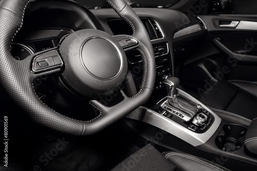 Photo  Modern car interior
