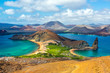 canvas print picture - View from Bartolome Island