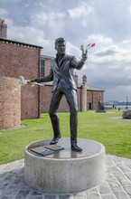 Billy Fury Statue, Albert Dock...