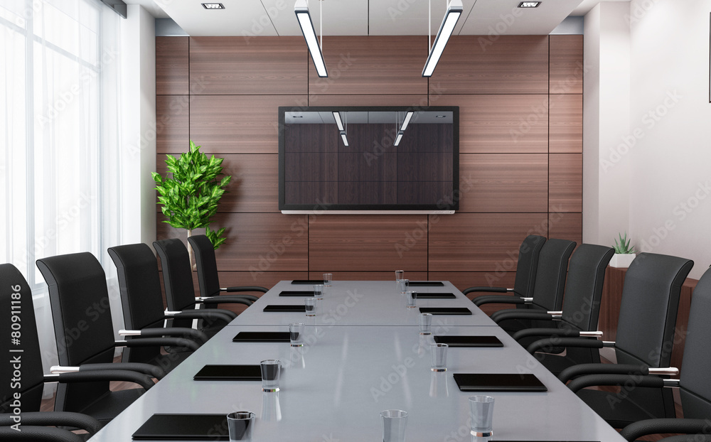 Fototapeta Modern conference room