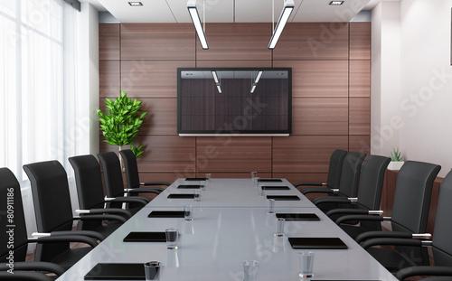 Fotografía  Modern conference room