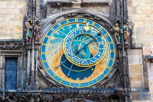Staande foto Praag Astronomical Clock. Prague.