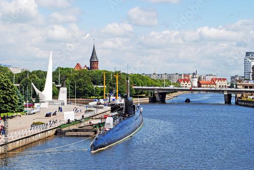 Fotografía  View of Kaliningrad center