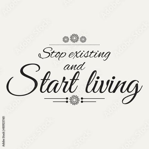 Fotografie, Obraz  Motivational poster
