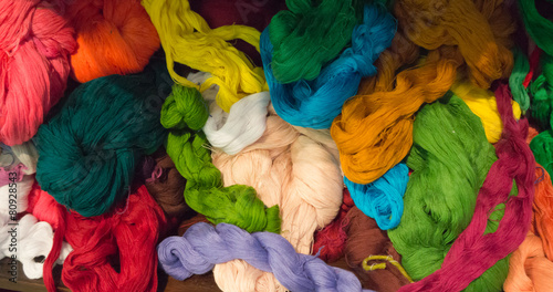 thread for weaving on loom Slika na platnu