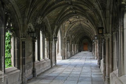 Photo stone cloister