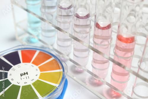 実験イメージ pH Canvas Print