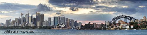 fototapeta na lodówkę Sydney CBD Cremorne Tele pan