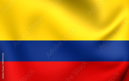 Flag of Colombia Canvas-taulu