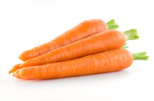 Carrot. Heap Of Vegetable Isol...