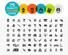 Culture Icons Including, Old W...