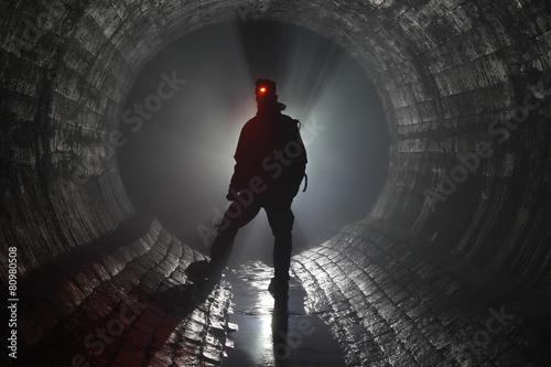 Fotografia  Подземная река