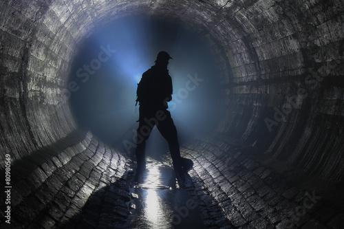 Zdjęcie XXL Rzeka podziemna
