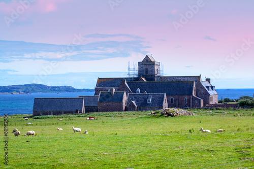 Iona Abbey, Scotland Fototapet