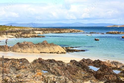 Fotografia Iona, a small island in Scotland
