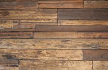 Closeup Old Wood Texture Wall