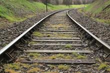 Ligne De Chemin De Fer.