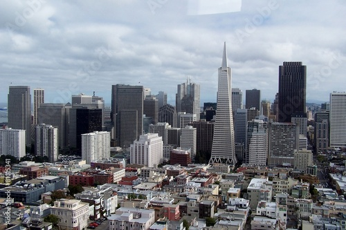 Keuken foto achterwand San Francisco skyline de San Francisco