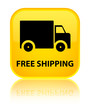 Free shipping yellow square button
