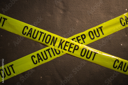 Poster  CAUTION KEEP OUT