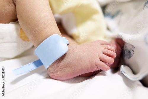 Bracciale identificativo neonato Wallpaper Mural