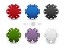 Set Of Casino Chips