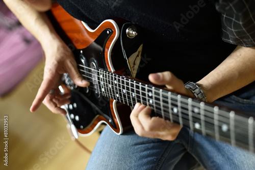 Chitarra elettrica Slika na platnu