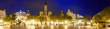 Panoramic View Of Placa Del Aj...