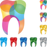 Zahn, tooth, Kreise, Zahnarzt Logo