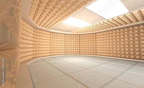 Photo  Soundproof room
