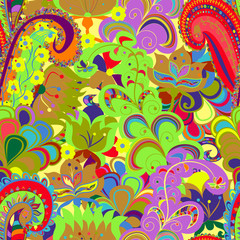 Seamless ornament ethnic background. Abstract pattern.  EPS-8 ve