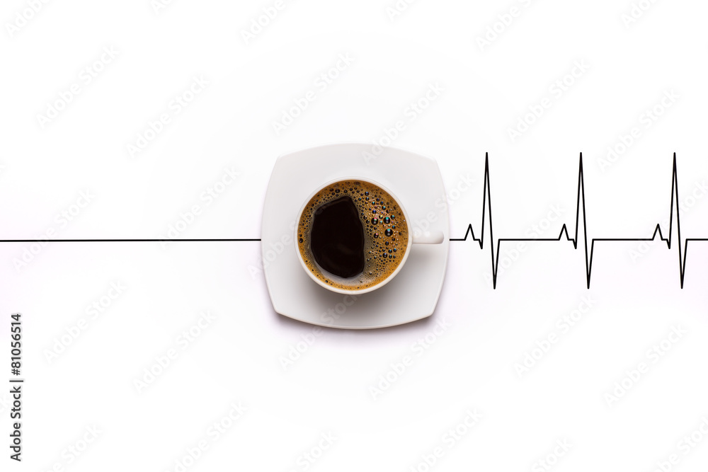 Awakening coffee cup